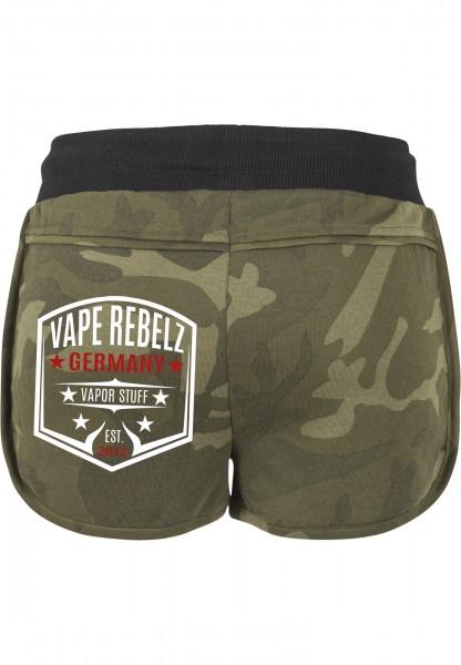 Vape Rebelz Damen Hotpants [URBAN CLASSICS]